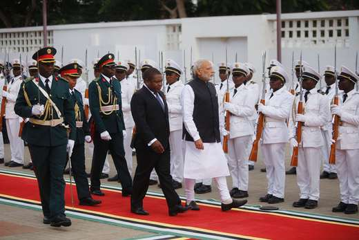 Modi in Africa to elevate relations